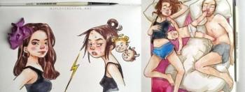 Jadi Ibu Memang Gampang-gampang Susah! 8+ Ilustrasi Lucu Ini Bisa Menjelaskanmu Kenapa