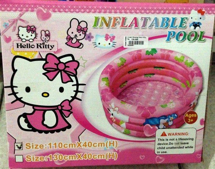 Kolam Renang Hello Kitty
