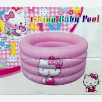 Kolam Baby Pool 4 Ring Hello Kitty 17100108