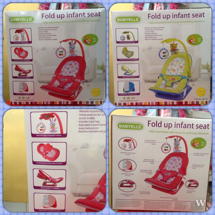 Baby Infant Seat with Toys Babyelle