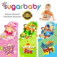 Baby Bouncer Sugar Baby Sugar Chef Pink