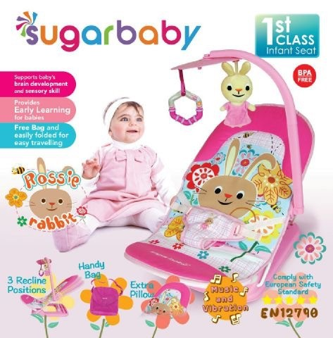 Baby Infant Seat Sugar Baby Rossie Rabbit