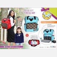 Tas Bayi Ransel Baby Joy Millie Series BJT1028 - Merah