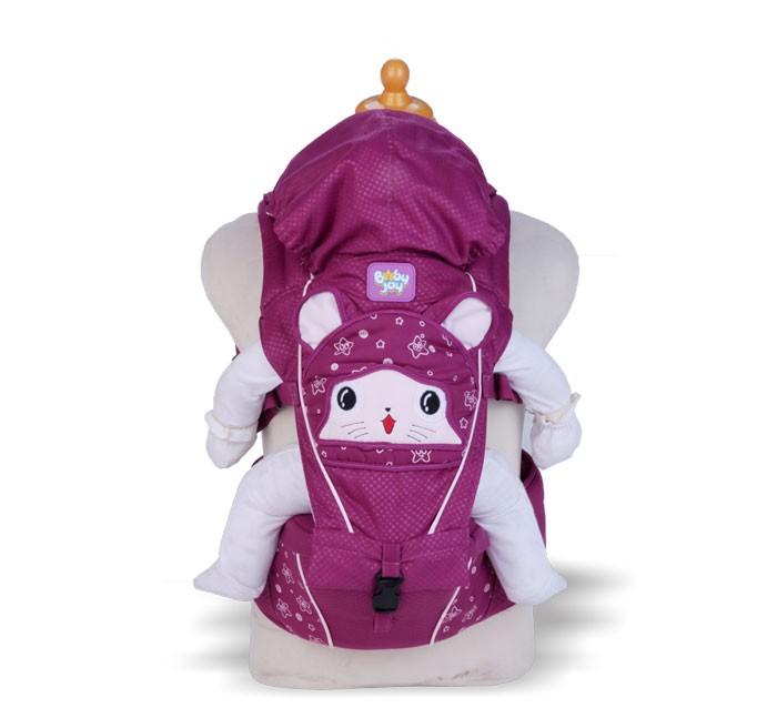Gendongan Bayi Hipseat Baby Joy Melody Series BJG3019 Ungu