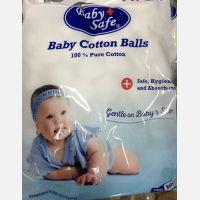 Kapas Bulat Baby Safe 100pcs