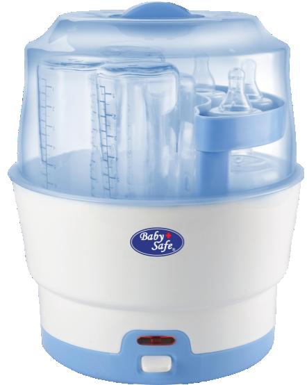 Baby Safe 6-Bottle Express Steam Steriliser
