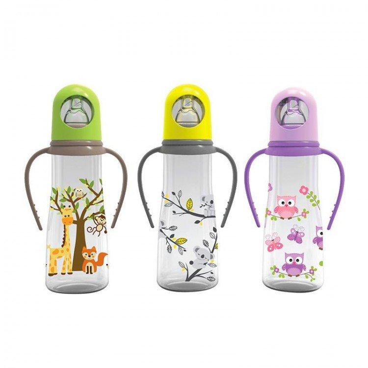 Botol Susu Baby Safe 250ml Handle 18060007