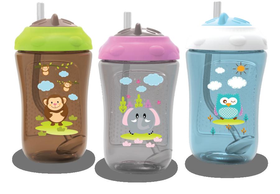 Botol Minum Sedotan Baby Safe 18110035