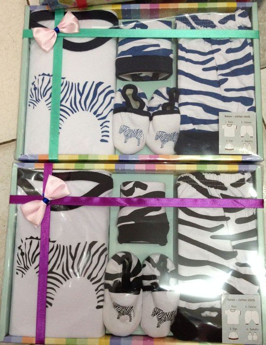 Baby Set Zebra