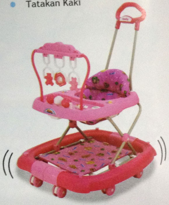 Baby Walker Family FB 2068 (Pink)