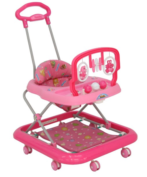 Baby Walker Family 1858 Pink