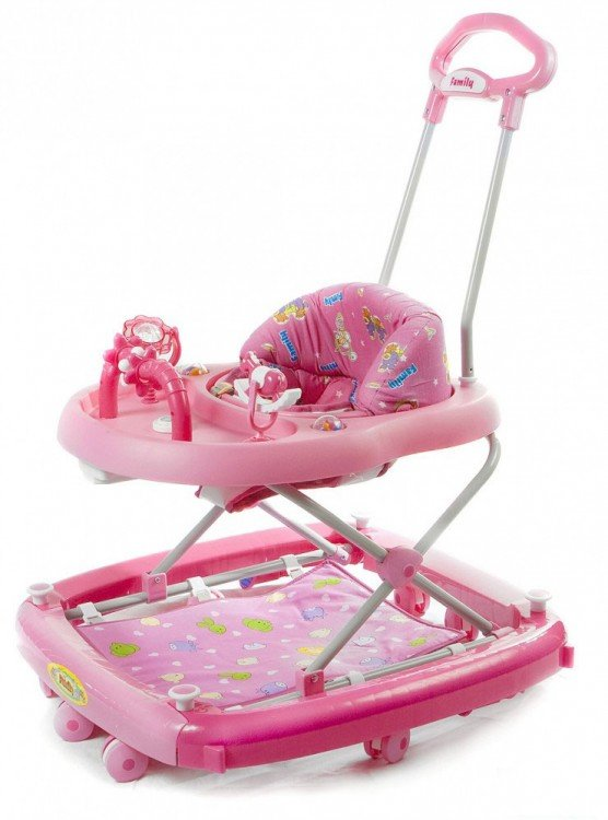 Baby Walker Family FB 2158 Pink