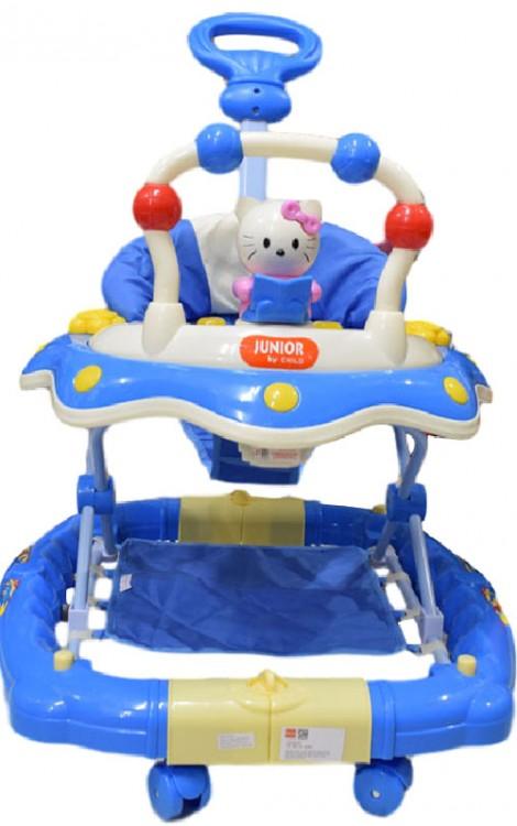 Baby Walker Junior Hello Kitty Biru