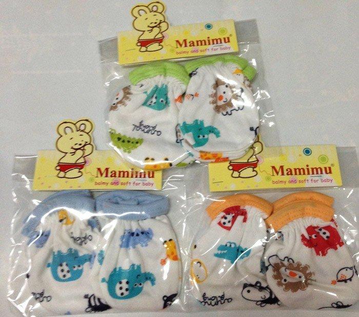 Kaos Kaki + Sarung Tangan Mamimu Animals Farm 15120069