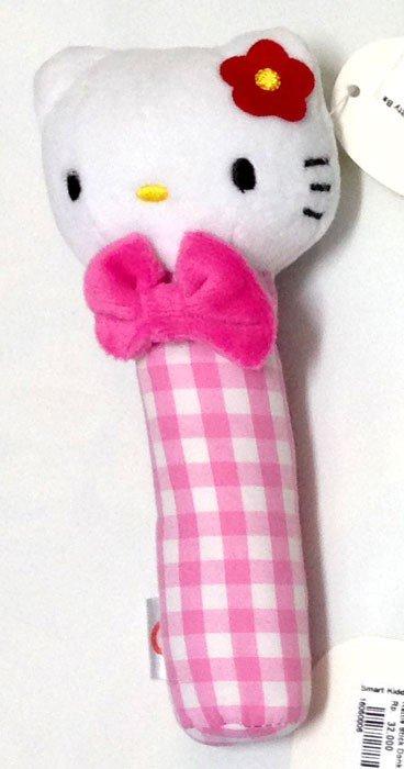 Rattle Stick Baby Glow Hello Kitty