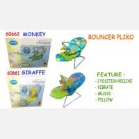 Baby Bouncer Pliko Monkey