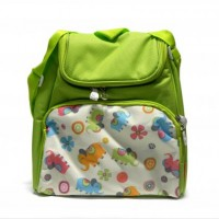 Tas Ransel Kid's Lunch Box Green IQ Baby (Aluminium Foil)