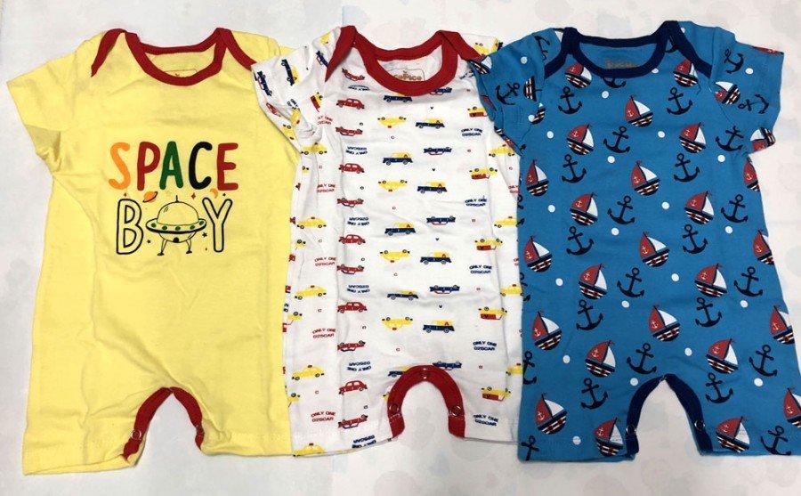 4f781b879 Jual Jumpsuit Pendek Boy PocoPico 18100014 - Produk : Smart Kiddo