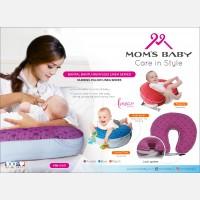 Bantal Menyusui Linea Series Moms Baby MBB0001 - Ungu