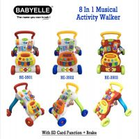 BabyElle 8 in 1 Musical Activity Walker