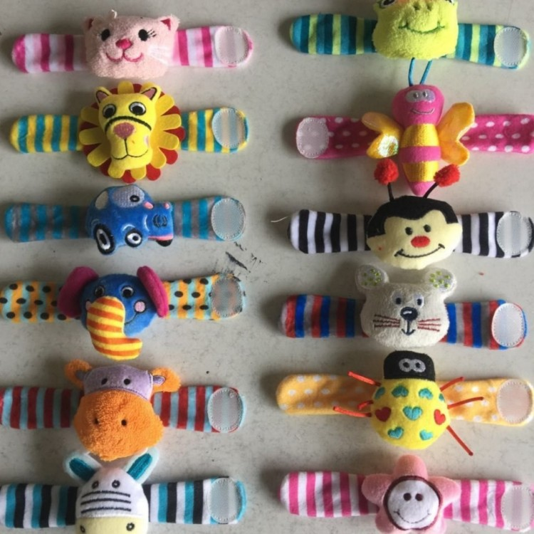 Rattle Gelang 2pcs Animals 18080077