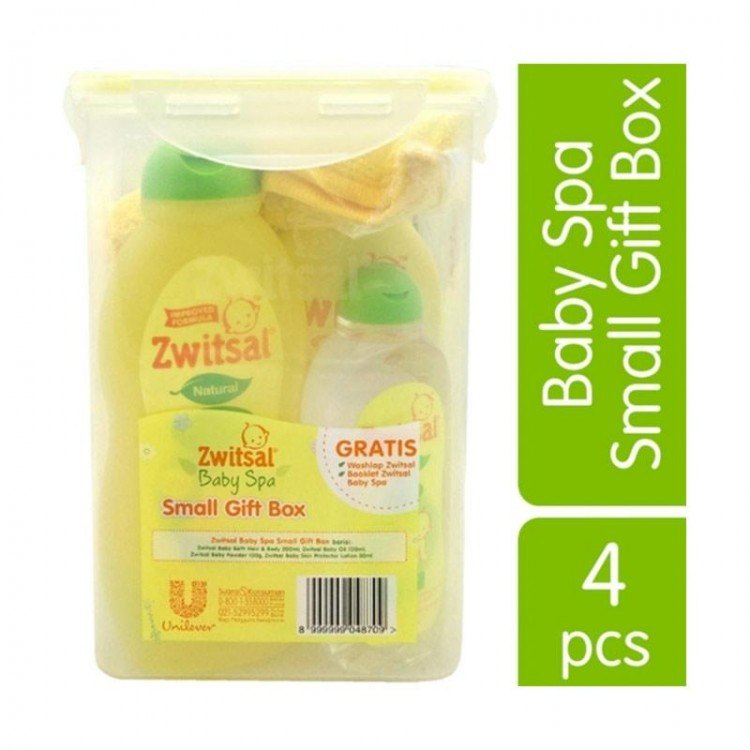 Zwitsal Baby Spa Small Gift Box Set