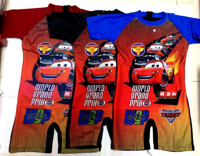 Baju Renang TK Cars