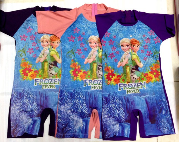 Baju Renang TK Frozen