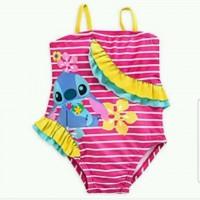 Baju Renang Salur Pink 18070034