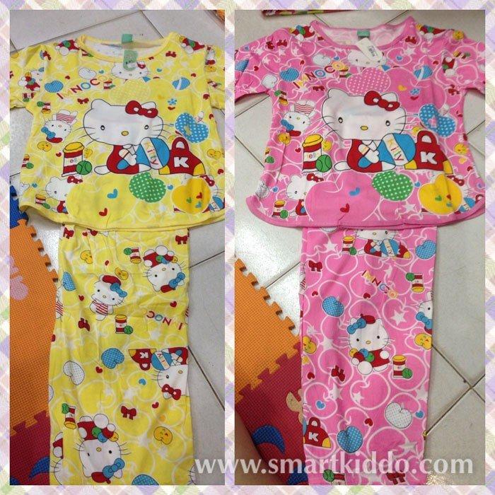7204796ba Jual Baju Tidur Spandek Hello Kitty 4-5 tahunan (Panjang) - Produk ...