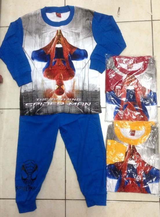Baju Tidur Spiderman 10/14 17090012