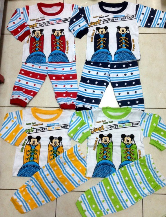 Baju Tidur Mickey Sepatu 17110087