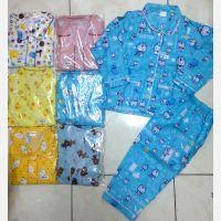 Baju Tidur Katun Motif Panjang No. 3