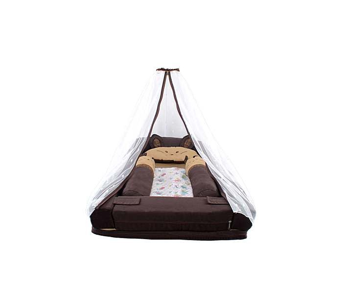 MBK4005 Kasur Lipat Multifungsi + Sofa Anak (Kelinci) Coklat