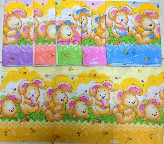 Bedong Bayi Lucky 110x90cm Rabbit