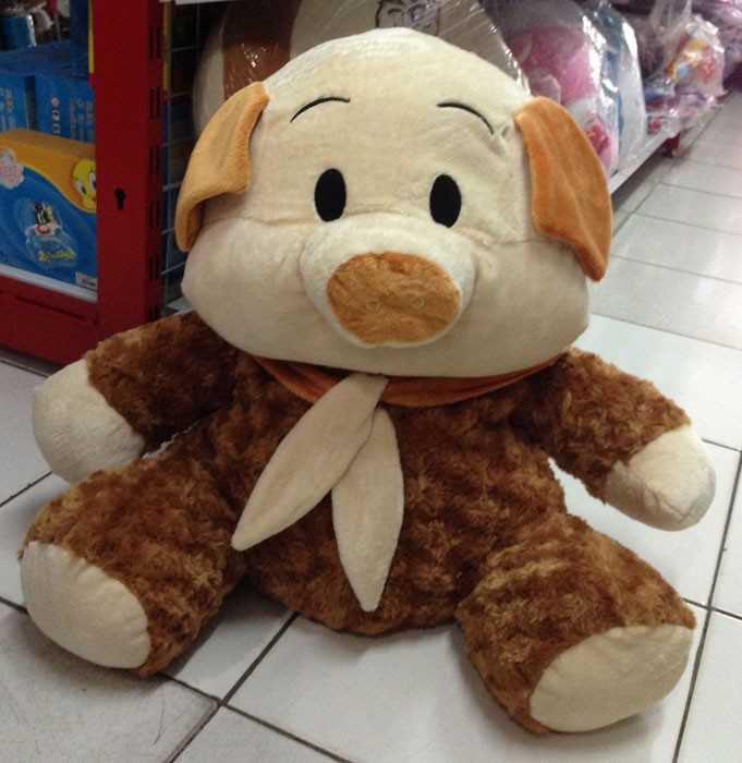 Boneka Piggy Coklat (Besar)