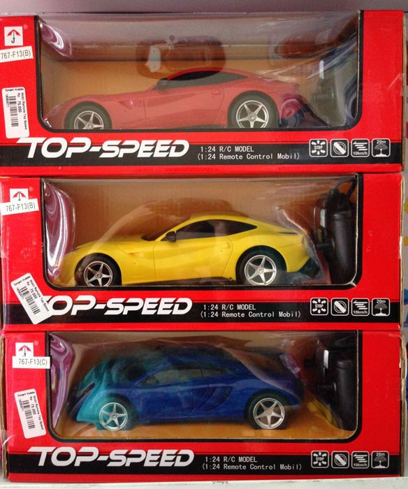 Mobil Remote Top Speed