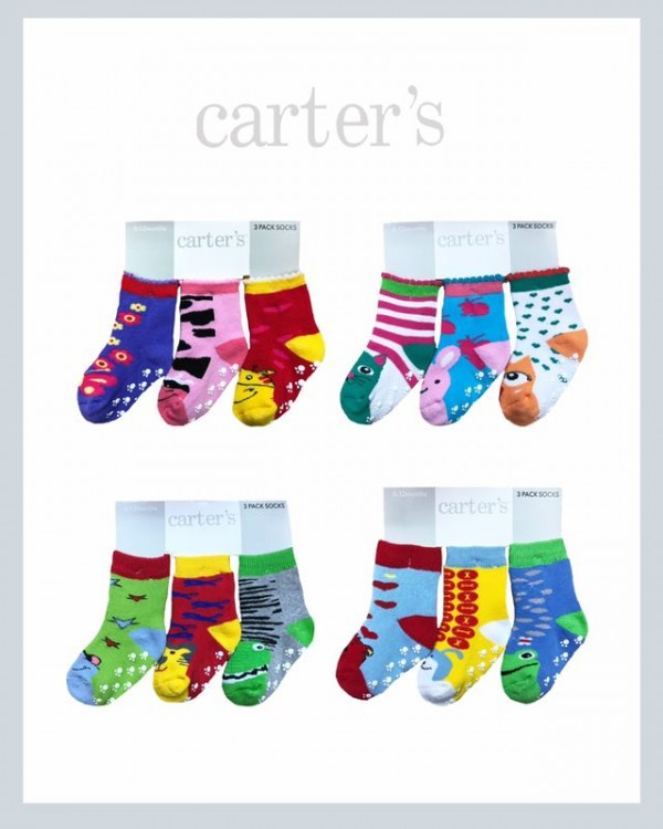Kaos Kaki 3 In 1 Carter