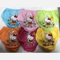 Celana Dalam Anak Chibon Hello Kitty Warna L
