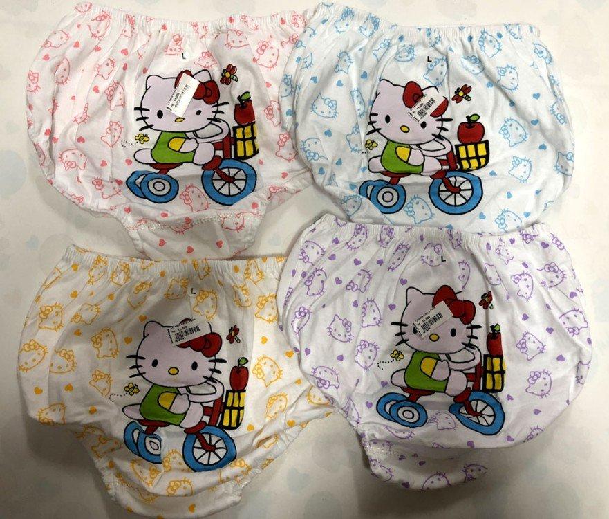 Celana Dalam Anak Chibon Hello Kitty Putih S