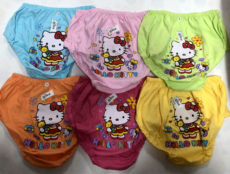 Celana Dalam Anak Chibon Hello Kitty Warna S