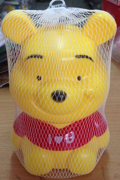 Celengan Plastik Pooh