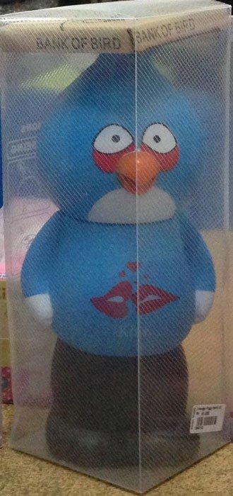 Celengan Angry Bird Biru