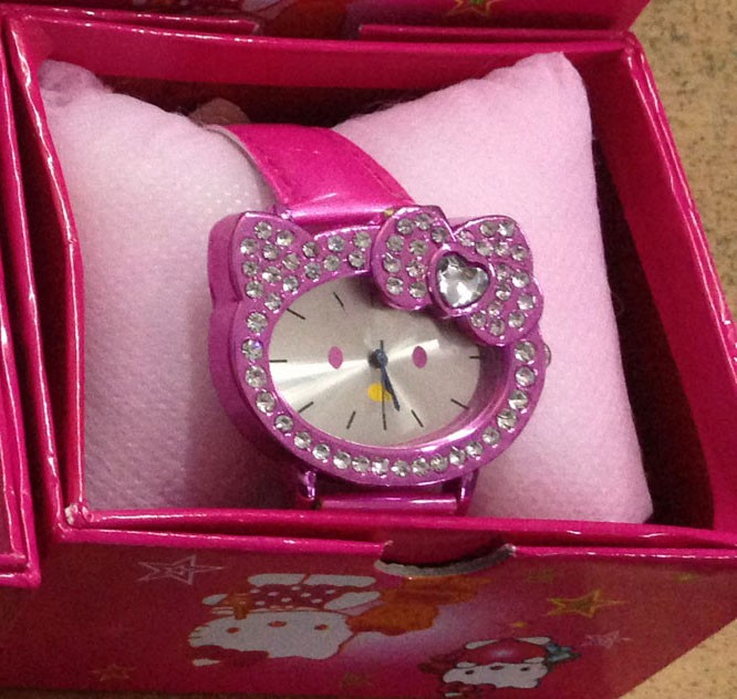 Jam Tangan Hello Kitty 4