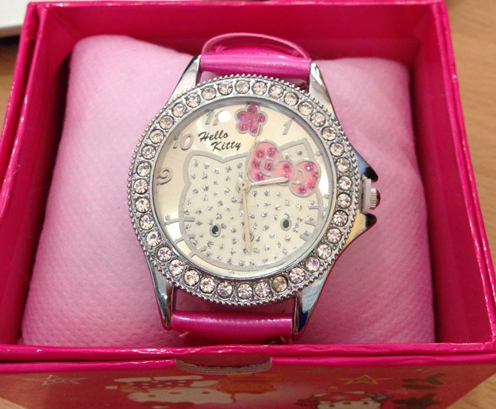 Jam Tangan Hello Kitty 6