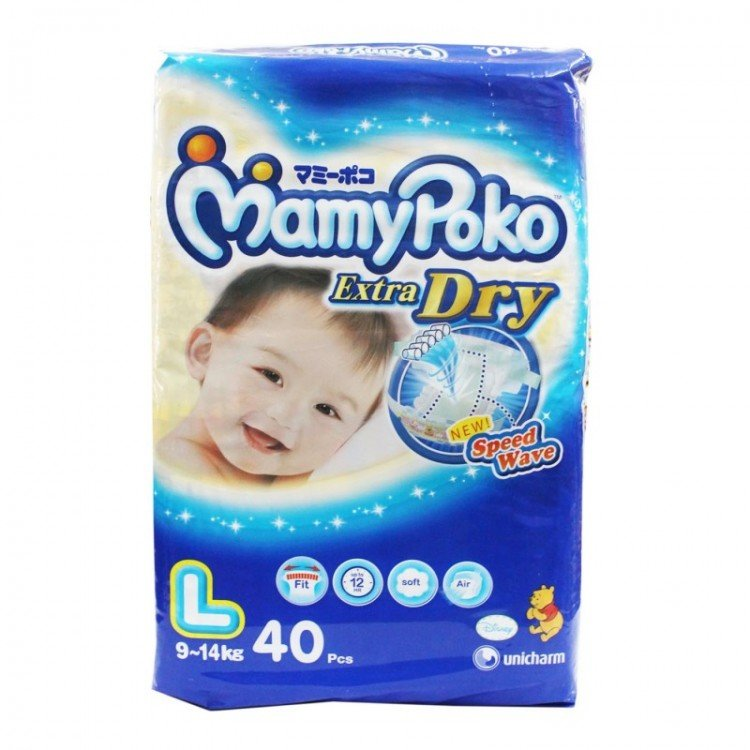 Mamy Poko Extra Dry L40