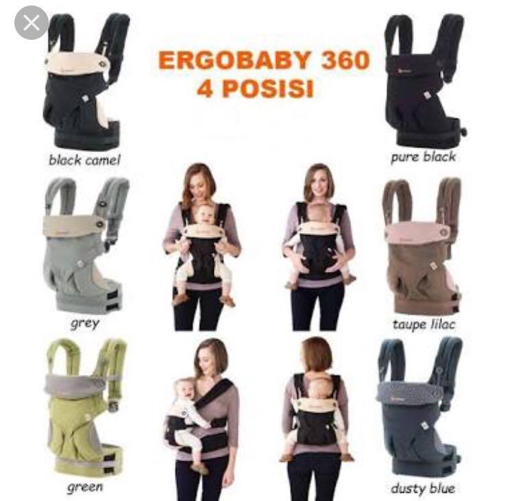 Gendongan Bayi Ergo Baby 360