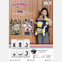 Gendongan Bayi Hipseat 6 Posisi Snobby TPG1644 Line Series - Merah