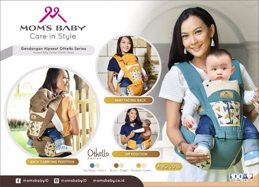 Gendongan Bayi Hipseat Simple Othello Series Moms Baby MBG2016 - Coklat