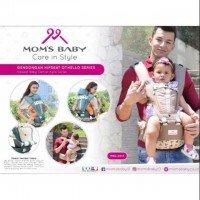 Gendongan Bayi Hipseat Othello Series Moms Baby MBG2013 - Coklat